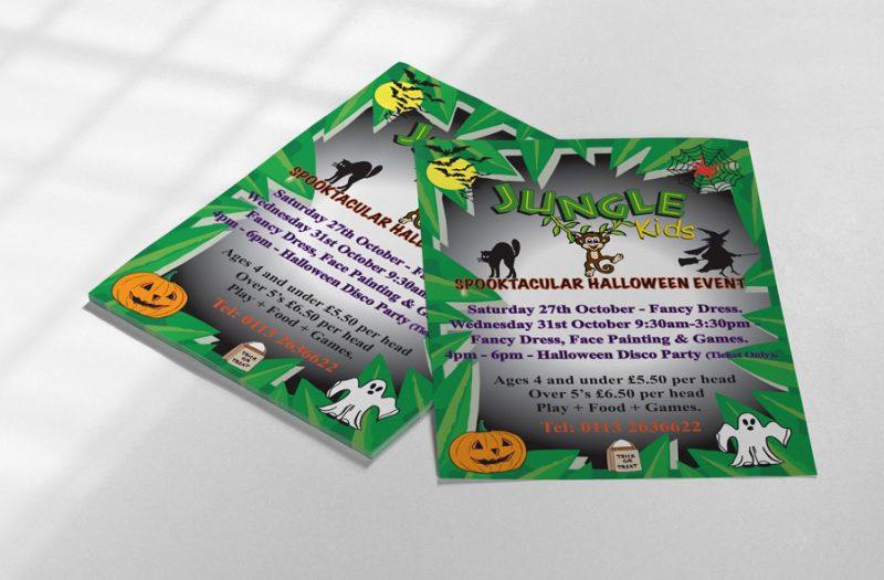 Jungle Kids Flyer