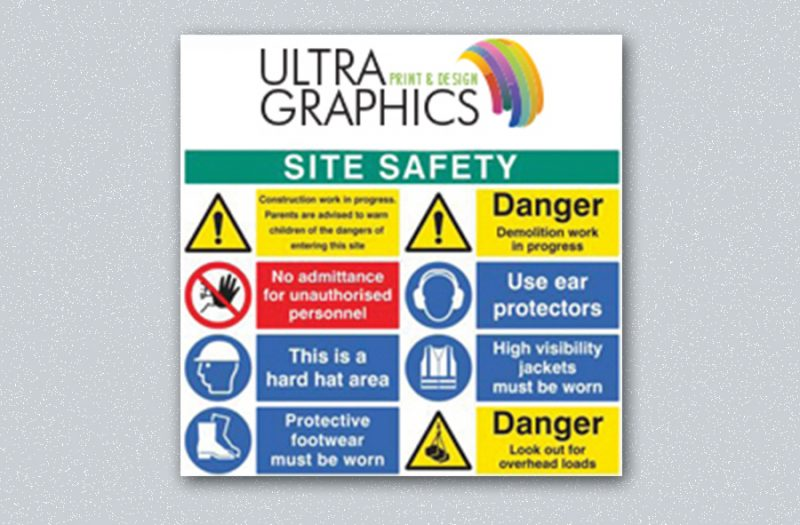 Personalised Safety Sign